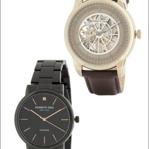 Kenneth Cole New York men's 2 pc Watch Set new
